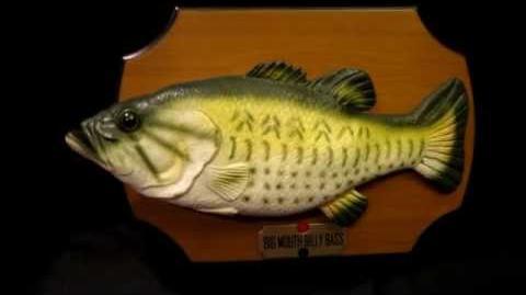 Big Mouth Billy Bass - The ORIGINAL singing fish