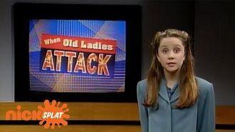 When Old Ladies Attack The Amanda Show NickSplat