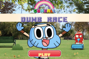 Dumb Race game title