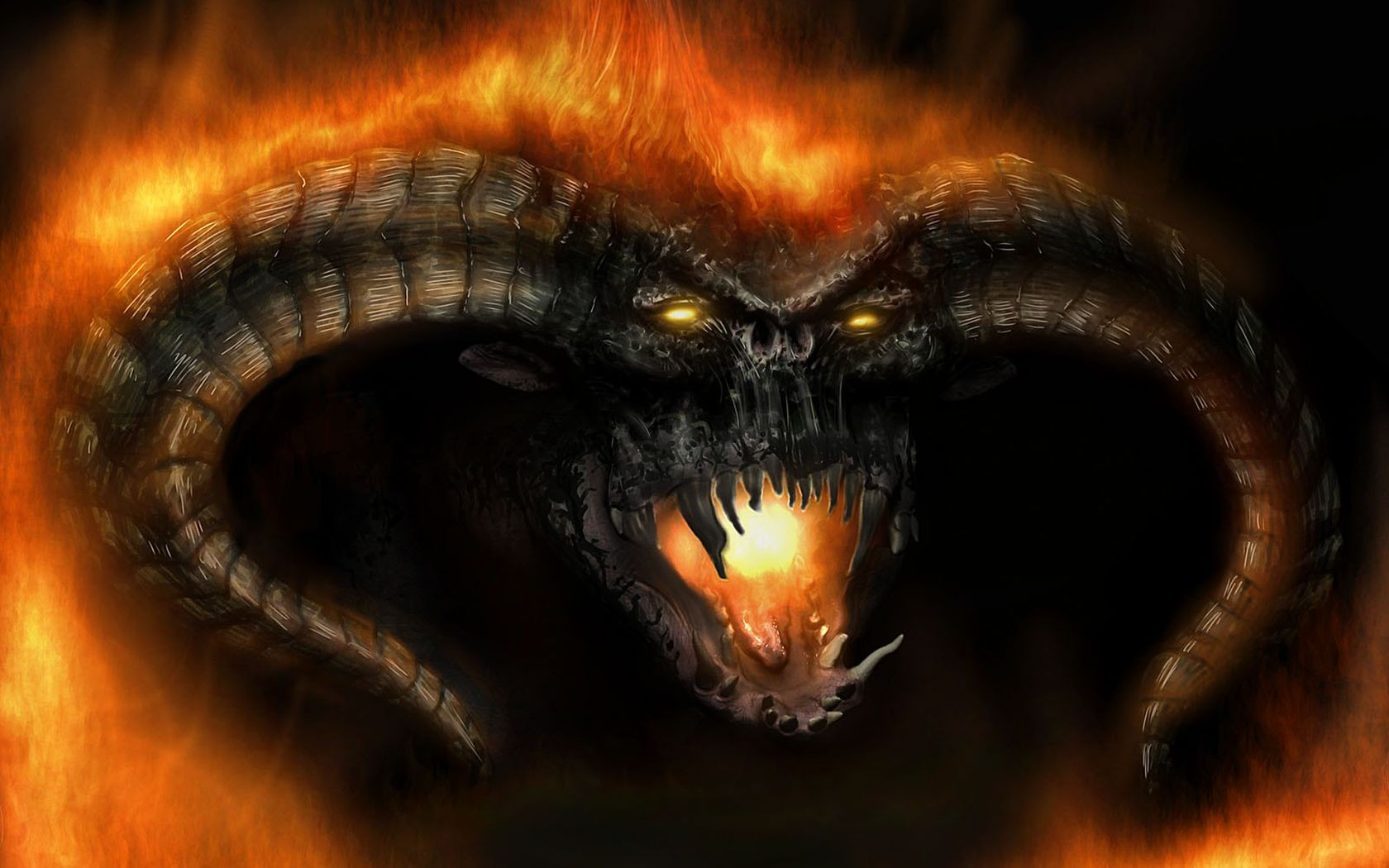 image - balrog-demons-the-lord-of-the-rings-fantasy-art-devils-hd