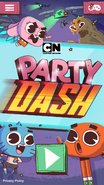 Party Dash Title Screen