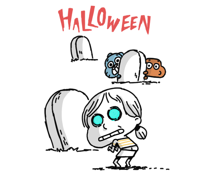 halloweenjpg - The Amazing World Of Gumball The Halloween