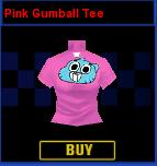 Gumball Shirt Formula Cartoon