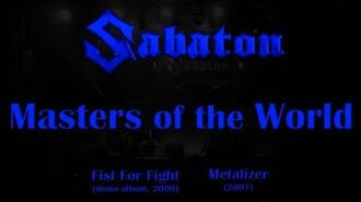 Sabaton - Masters of the World (Lyrics English & Deutsch)