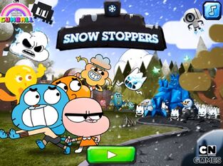 The Amazing World of Gumball Snow Stoppers