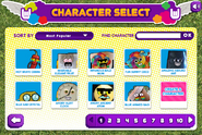Characterselect