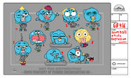 GB416ORIGINSPT1 Costume Gumball PhotoExpression V001