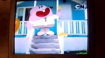 "Cartoon Network Asia Gumball ""Raining Pancakes"" Bumpers-2"