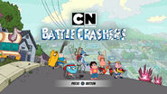 CN Battle Crashers Title screen