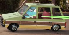 The Wattersons' minivan