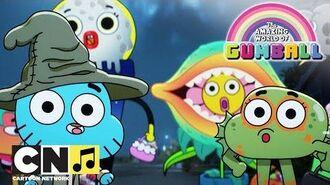 Гамбол - В Элморе Хэллоуин - Cartoon Network