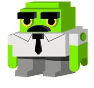 3DCubeOfficeWorker