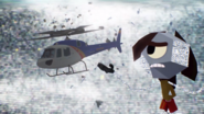 S5E01 The Rerun helicopter