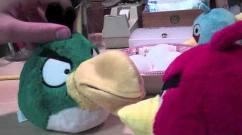 Angry Birds Meet the Orange Bird (part 1)