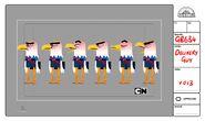 GB634 Character DeliveryGuy V013