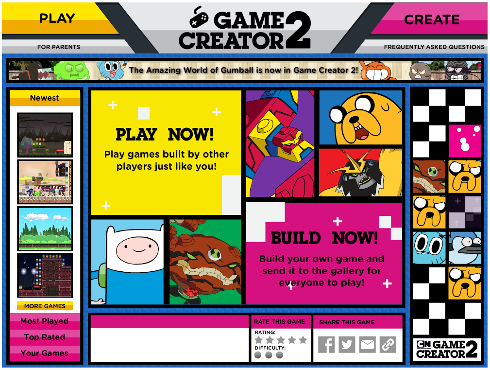 Game Creator 2 The Amazing World Of Gumball Wiki Fandom