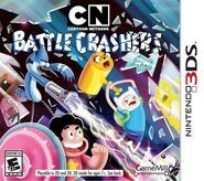 Cartoon Network Battle Crashers Nintendo 3DS Cover