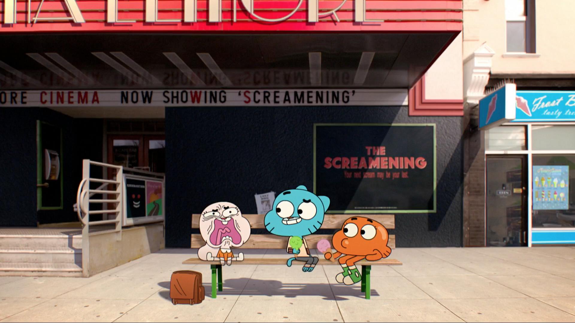 Elmore Cinema | The Amazing World of Gumball Wiki | FANDOM ... | 1920 x 1080 png 3397kB