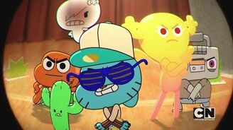 The Amazing World of Gumball - The Blame Song (Books Are Violent)