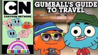 The Amazing World of Gumball Gumball's Guide To Travel Cartoon Network UK 🇬🇧