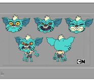 GB5XXDEAL Costume Gumball Gremlin