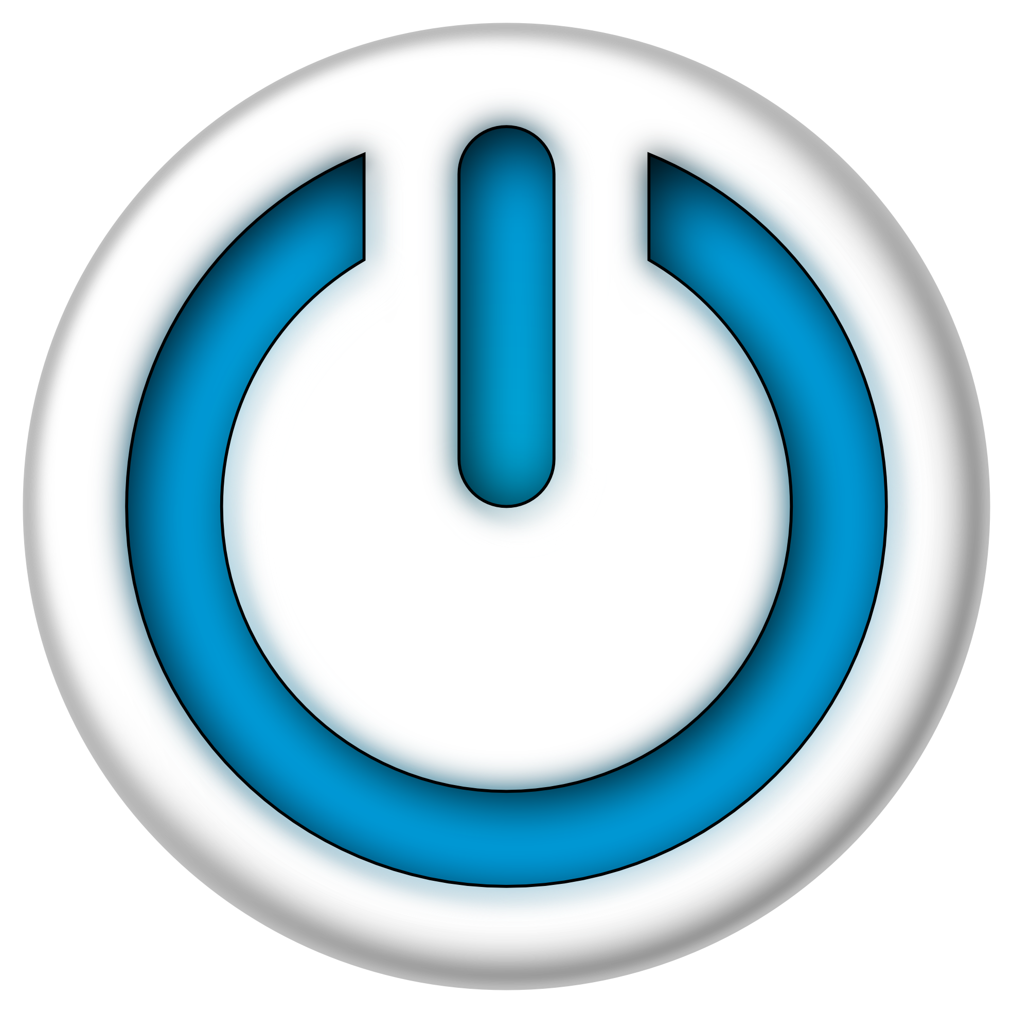 image blue power sign button 1969px png the amazing world of rh theamazingworldofgumball wikia com