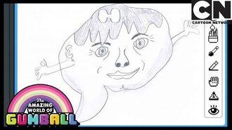 Darwin's Yearbook Carrie Gumball Cartoon Network