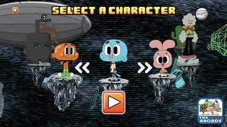 The Amazing World of Gumball Swing Out - Stick the Perfect Landing (CN Games)