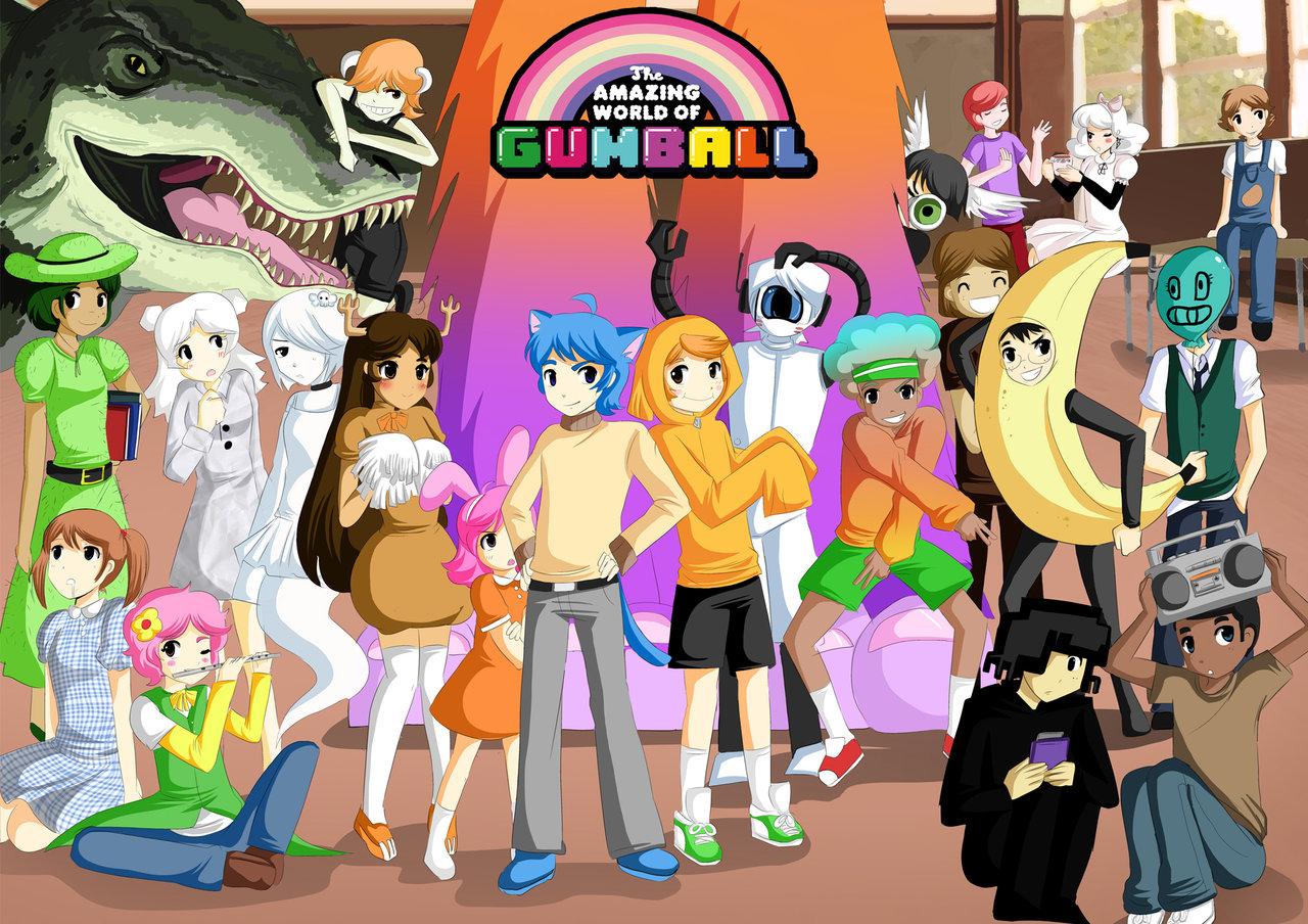 The amazing world of gumball anime verison by sakura02 d627hm4 jpg