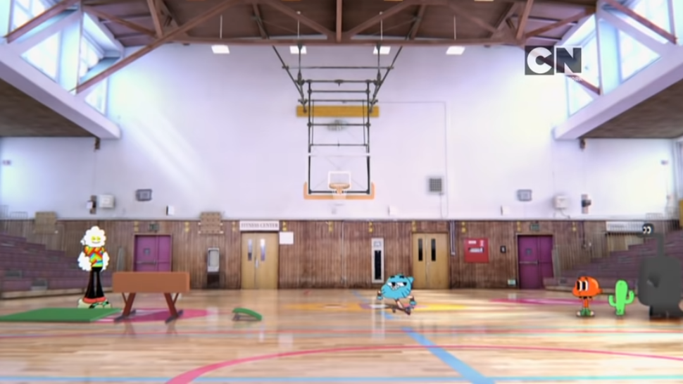 School gym the amazing world of gumball wiki fandom powered by
