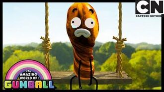 Darwin's Yearbook Banana Joe Gumball Cartoon Network
