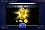 Gumball Trophy Touch N Go
