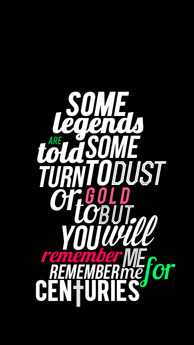 Iphone Wallpaper Centuries Fall Out Boy By Kitamikeita D7ywve4
