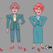 TheLady - Femala-Human Characters Designs1