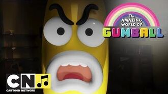 The Amazing World of Gumball The Banana Nah Song Cartoon Network