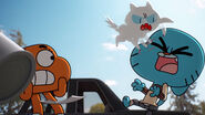 Gumball VS. Mr. Kitty in The Nest