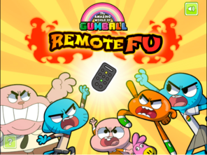 Remote Fu Title Screen
