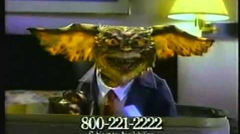 1990s Gremlins 2 Clarion Hotel Commercial