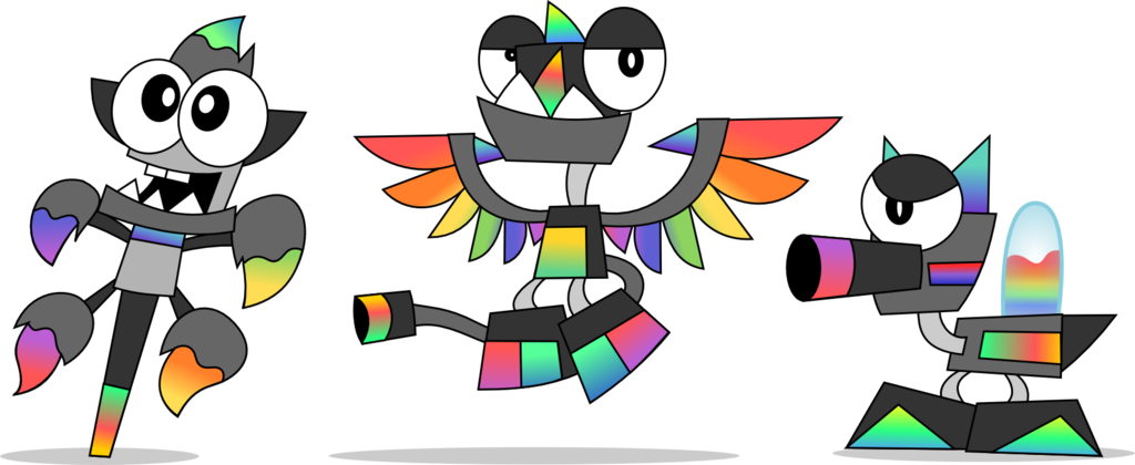 Mixels Oc Tribe The Chromablasts By Supercoco142