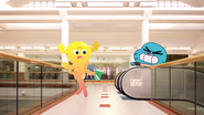 Penny and Gumball on the rerun