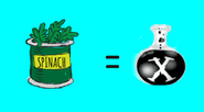 Spinach as Chemical X