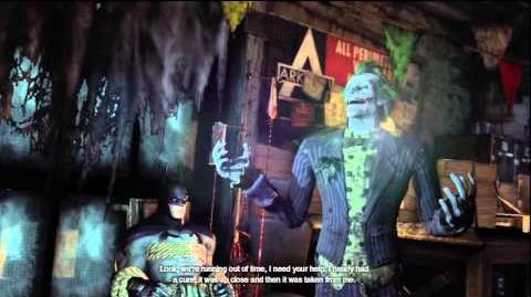 Batman Arkham City - Batman meets Joker for the first time in game