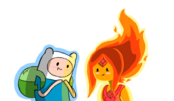 Flame princess and finn by xcoqui-d50eopn