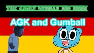 The Angry German Kid Show Episode 11 AGK and Gumball