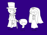 Carrie and her parents by dannichangirl-d3gw5gj