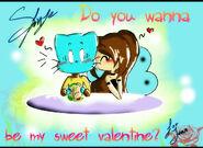 Do you wanna be my sweet valentine by sfinje-d5u4d2h