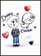Danny x carrie by sfinje-d62cezq
