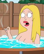 Francine hottub1