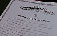 Travel Agents Clark Martha marriage license
