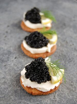 Caviarappetizer